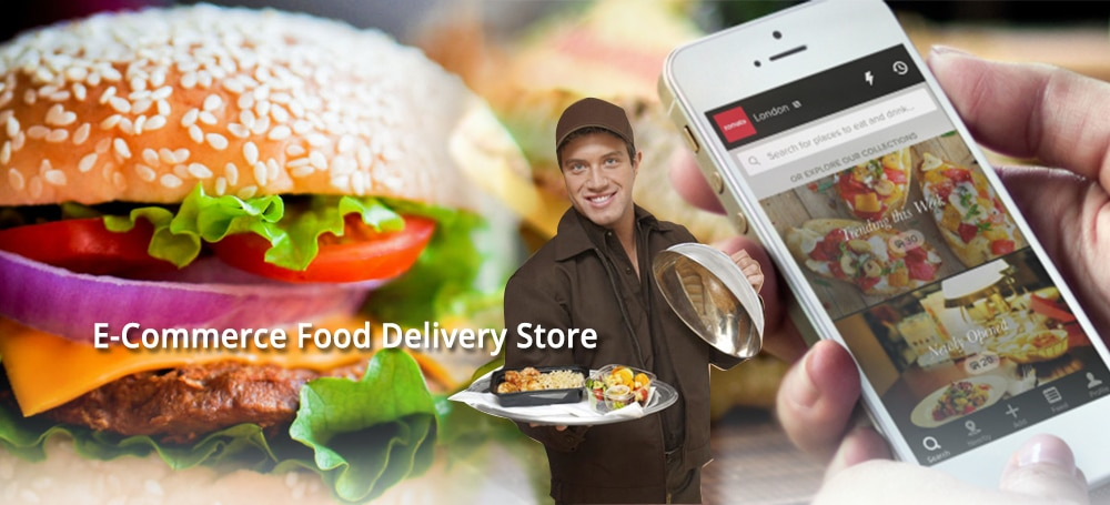 ecommerce food store