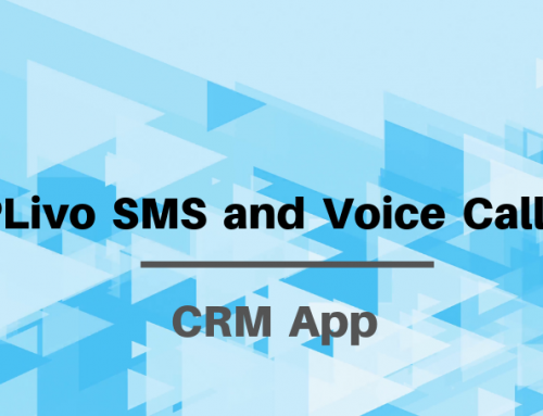 Automated SMS and Voice Calls using PLivo App