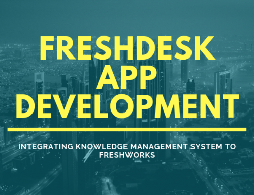 Freshdesk App For Knowledge Management Company