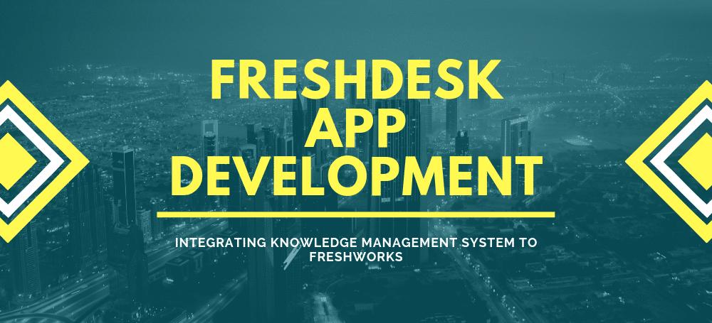 Freshdesk App For Knowledge Management Company