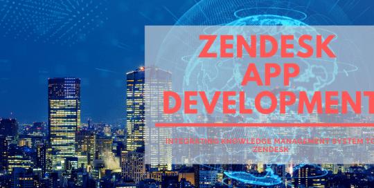zendesk app development